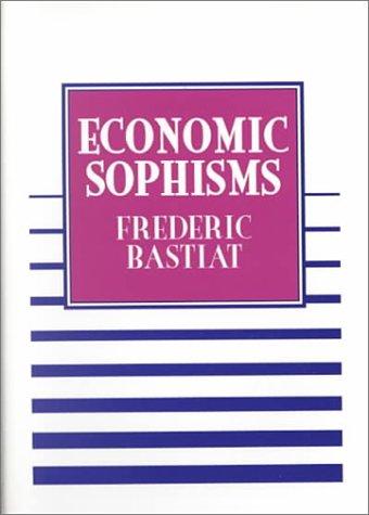 Read Online Economic Sophisms pdf
