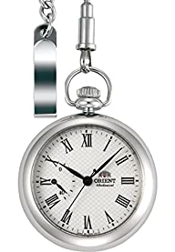 "ORIENT ""Epoch"" Manual Winding Power Reserve Pocket Watch DD00002W"