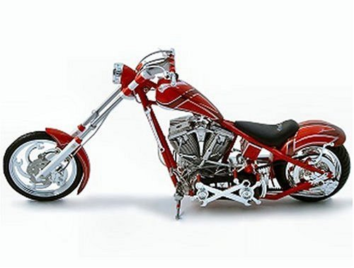 American Chopper Orange County Chopper Tool Bike Die Cast 1:10 Scale