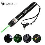 Hangang Tactical Green Hunting Rifle Scope Sight Laser Pointer Pen Multifunction Flashlight Stylish
