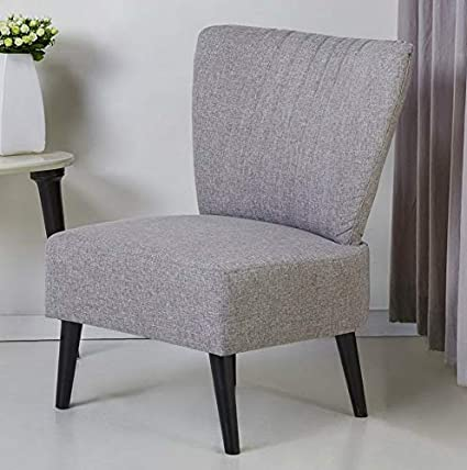 Amazon.com: Hebel Fontana Armless Accent Chair | Model CCNTCHR - 10 ...