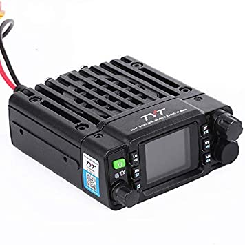 TYT TH-8600 Mini 25 Watt Dual Band Base, IP67 Waterproof Radio VHF 136-174mhz 2m UHF 400-480mhz 70cm Amateur Car Mobile Transceiver HAM FREE Cable
