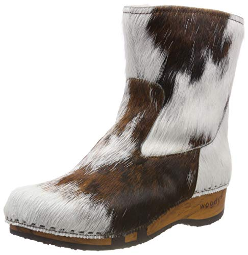 Femme Woody Natur Bottines Sandra 009 Multicolore 0xRq4xC