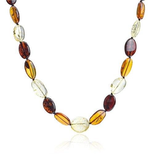 Noda Bague Ovale perles collier 58cm