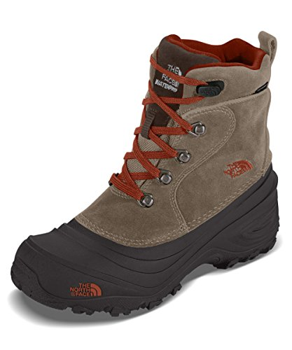 Boys' Chilkat Lace II Boots - mudpack brown/sienna orange, 10 toddler