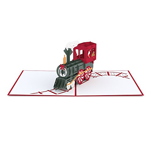 Lovepop Santa Train Pop Up Christmas Card