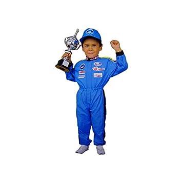 Atosa Disfraz de Piloto de Fórmula 1. Niño, Talla 10/12 años ...