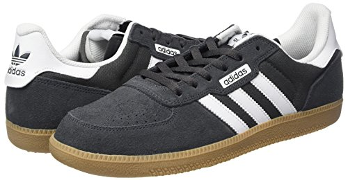 Adidas leonero Herren Sportschuhe dark grey heather solid grey-footwear white-gum4