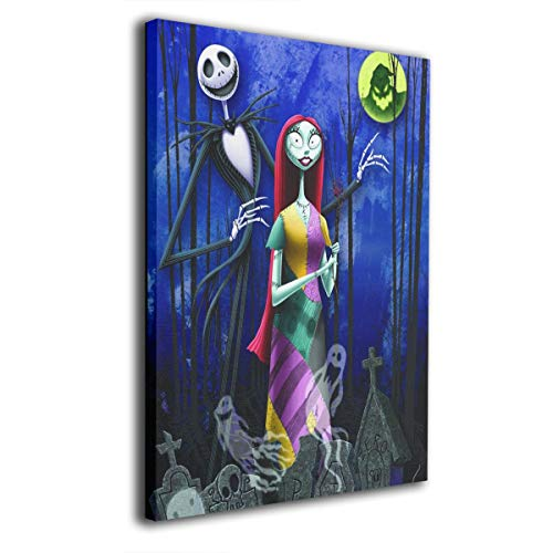Gloria Fullwiler The Nightmare Before Christmas Canvas Wall
