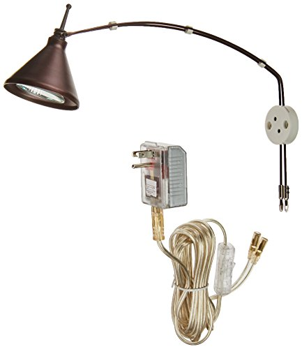 Dainolite Lighting HPIC11OBB Halogen Picture Light by Dainolite