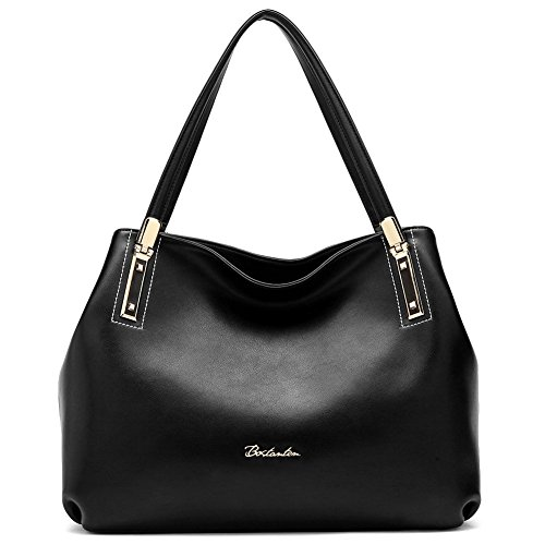 Designer Leather Handbag: Amazon.com