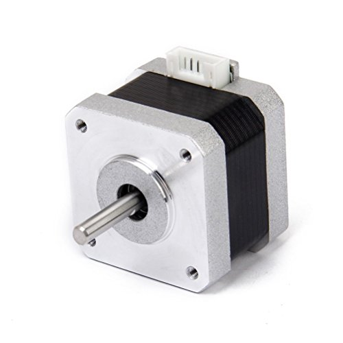 UEETEK Nema 17 Stepper Motor,2 Phase 4-Wire 1.2A 34mm 1.8° Stepper Motor for 3D Printer by UEETEK