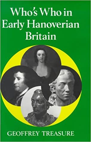 Who's Who in Early Hanoverian Britain, 1714-89 (Who's Who in British History)