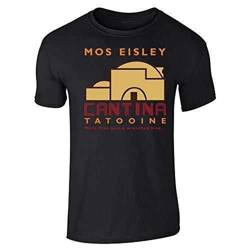 Mos Eisley Cantina Tatooine Black L Short Sleeve T-Shirt]()