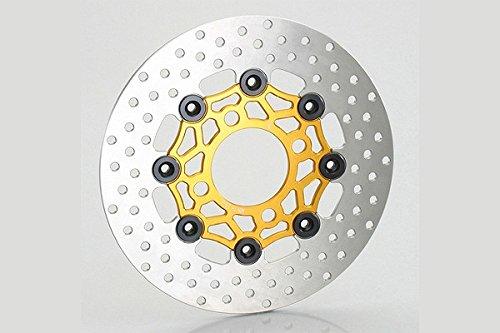 KITACO(キタコ) GROM/PCX125/ズーマーX フローティングディスクローター ゴールド/ブラック   B00OURYCU8