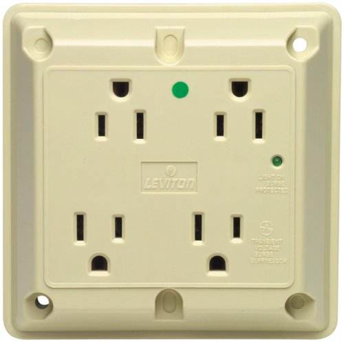 Leviton 8480 I Receptacle Industrial Grounding