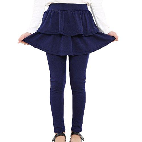 Yyicool Spring Girls Stretchy Leggings Pants Skirt-Pants Skirt Girl Baby Pants Kids Leggings