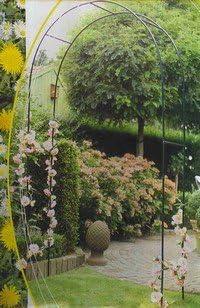 LIFE DECO glorieta de jardín para Rosas, Flores y Plantas trepadoras.: Amazon.es: Hogar
