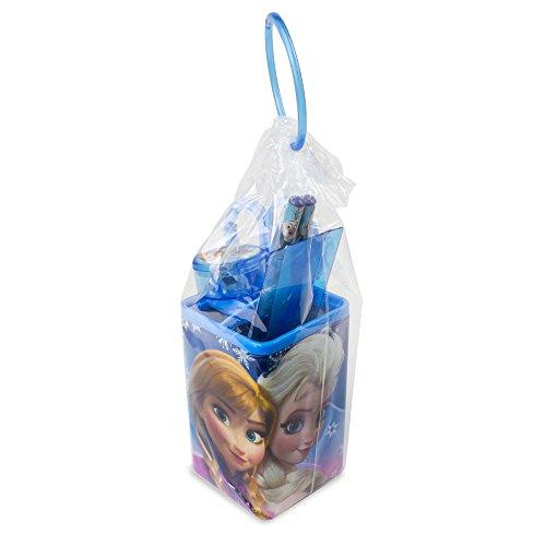 (Disney Frozen DARP-CFRO053 Frozen Pencil Box Holder School Set (6-Piece))