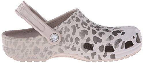 Crocs Unisex Klassisk Leopard Fade Stabeis Platina