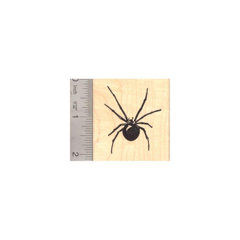 Black Widow Spider Rubber Stamp Arts, Crafts & Sewing