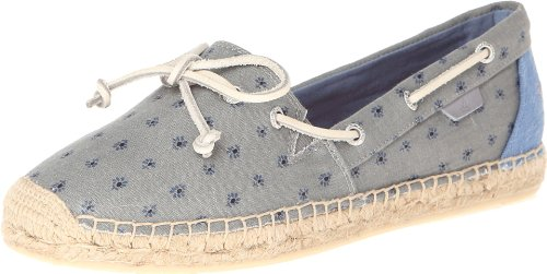 Sperry Top-Sider Women's Katama Mini Floral Espadrille Sandal,Grey,6.5 M US (Espadrilles Top Sider Sperry)