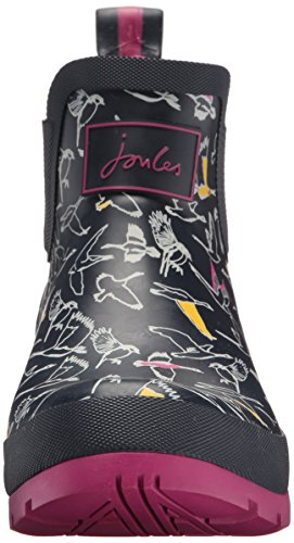 Tom Joule Ladies Stivali In Gomma Wellibob Stampa Multi Uccello