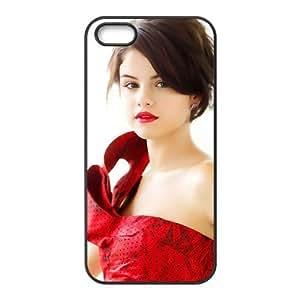 Custom Personalized Selena Gomez Back Cover Case TPU for iphone5,5S JN5S-937 wangjiang maoyi