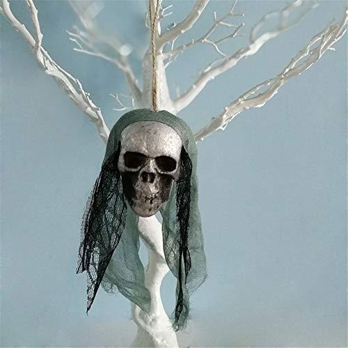 MOKO-PP Halloween Hanging Decor Pirates Corpse Skull Haunted House Bar Home Garden Decor(B)