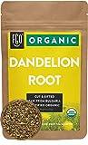 Organic Dandelion Root | Loose Tea (50+ Cups) | 4oz Resealable Kraft Bag | 100% Raw From Bulgaria | by Feel Good Organics