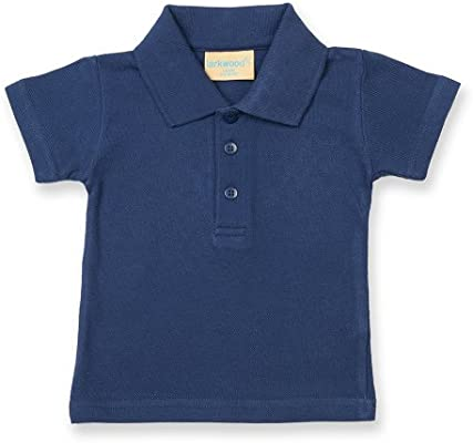 Larkwood- Polo de manga corta para bebé unisex (12-18 meses/Azul ...