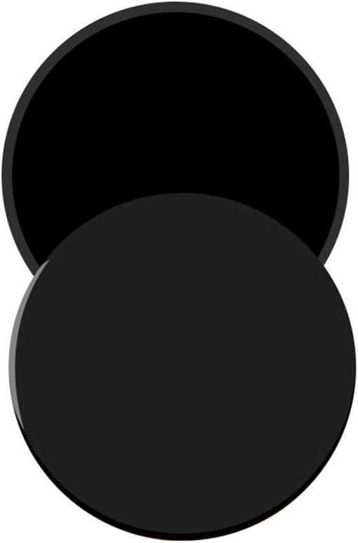 Snewvie 2 Piezas Discos de Deslizamiento Core Sliders Fitness Discos Deslizantes Ejercicios de Doble Cara para Uso en Alfombra y Pisos Duros