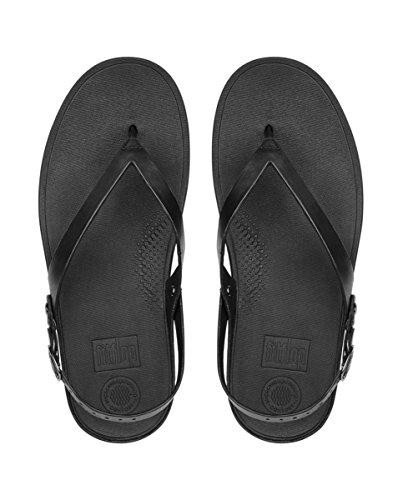 090 Fitflop Mujer Negro con Flip Sandal Black Pulsera Sandalia para O1fzwOq