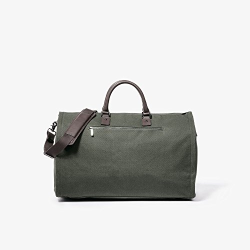 Hook & Albert Garment Weekender Bag (Olive) by HOOK & ALBERT (Image #4)