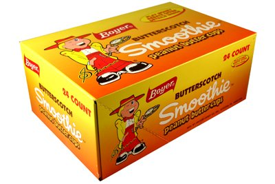 Boyer Butterscotch Smoothie Peanut Butter 24 Packs