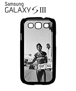 Free F*ck Hitchhiking Sexy Boy Cell Phone Case Samsung Galaxy S3 Black
