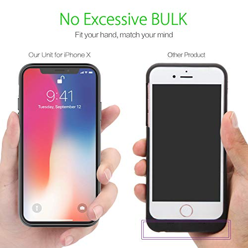 0dba3da68 iPhone X/XS Battery Case, Maiphee 5.8-inch 3200mAh Slim Rechargeable  Extended Protective Portable Charging Case for iPhone X/XS and iPhone 10,  ...