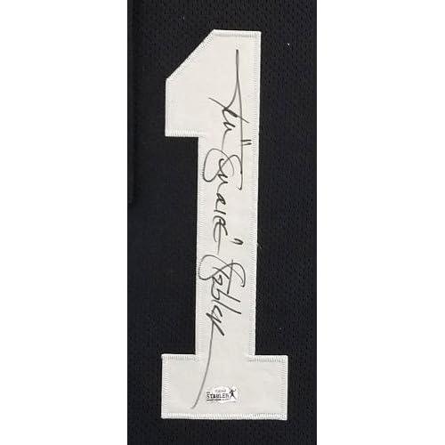 huge selection of b2088 b4272 Ken Stabler Signed Oakland Raiders Custom Framed Black Stat ...