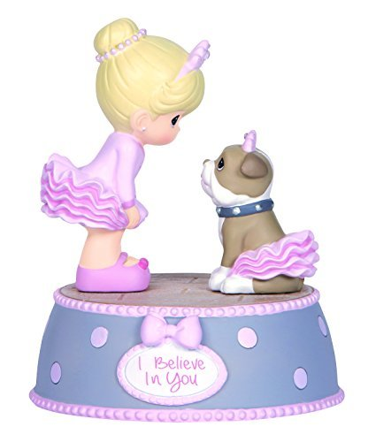 Precious Moments,  I Believe In You, Resin Music Box, 144106
