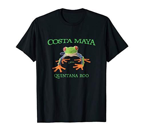 (JCombs: Costa Maya, Quintana Roo, Tree Frog T-Shirt)