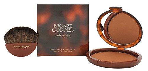 Estee Lauder Bronze Goddess No. 04 Deep Powder Bronzer for Women, 0.74 -