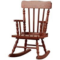 Viv + Rae Winter Victoria Kids Rocking Chair with Elegant Cherry Finish