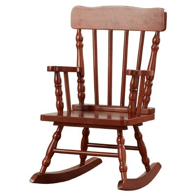 Viv + Rae Winter Victoria Kids Rocking Chair with Elegant Cherry Finish by Viv + Rae