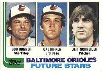 Bob Bonner, Cal Ripken and Jeff Schneider