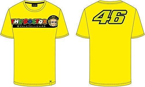 VR46 Camiseta Hombre Valentino Rossi Cupolino TG. S: Amazon.es ...