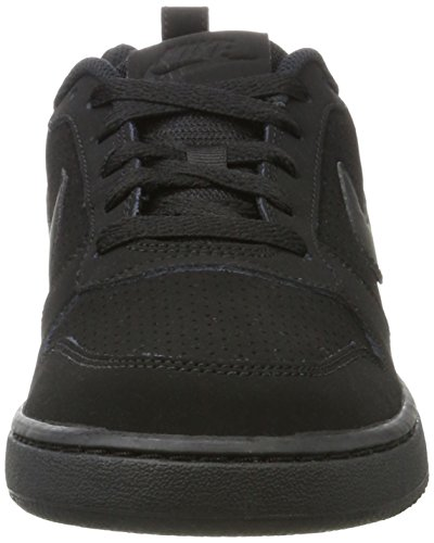 Nike Herren Court Borough Low Basketballschuhe, Grau Schwarz (Black)