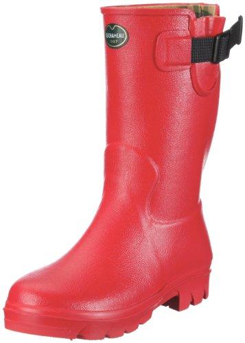 Le Chameau Verizon junior BCB 1803 Jungen Gummistiefel Rot (Rouge vermillon 0755)