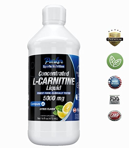 TOP Rated L-Carnitine 5000 Mg Dietary Supplement Liquid - Strongest on Amazon - 16 Oz. - Amazing Orange and Pineapple Citrus Flavor L Carnitine! 100% Satisfaction Guaranteed or Your Money Back!