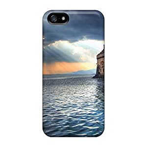High Quality Luoxunmobile333 Chillon Castle Lake Geneva Switzerland Skin Cases Covers Specially Designed For Samsung Galaxy Note4