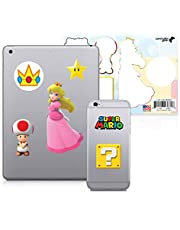 Controller Gear Officially Licensed Super Mario - Character Tech Decal Pack - Peach's Kingdom - Nintendo Wii; GameCube